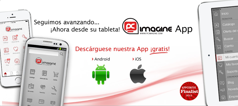 Aplicacion movil PC Imagine